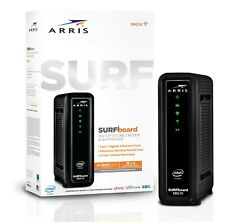 ARRIS SURFboard SBG10 16x4 AC1600 WiFi Modem Router - Black