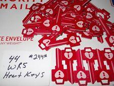 New listing 44 Wr5 Heart Key Blanks 5 Pin House Keys Must Look Locksmith Deal