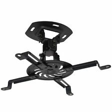 VIVO Universal Adjustable Ceiling Projector Theater Mount Black | Extending Arms