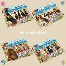 Pet Friendly Beach Small/Mini Magnets, Dogs, Cats, Pet Photo Magnet Gifts