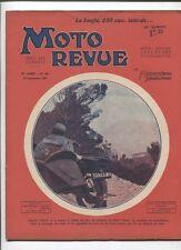 Moto Revue N°444  ;  12 septembre 1931 : Jonghi 350 cmc latéral