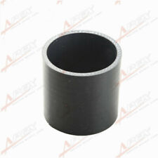 """3 Ply 2.75"""" inch Straight Hose 70mm Turbo Silicone Coupler Pipe Black"""