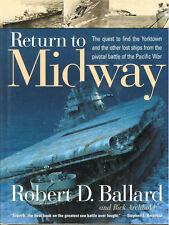 RETURN TO MIDWAY BALLARD USS YORKTOWN HBDJ USN UMV DSVSS ATV NATIONAL GEOGRAPHIC