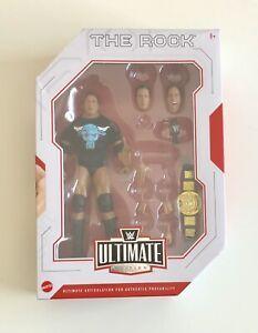 WWE The Rock Mattel Ultimate Edition Elite Amazon Exclusive