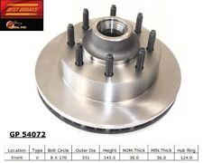 Disc Brake Rotor fits 1999-2001 Ford F-350 Super Duty  BEST BRAKES USA