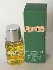 La Mer The Renewal Oil .17fl.oz./5ml Brand New in Box Batch BA8 Exp.Date:10/2021