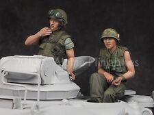 Alpine Miniatures 1:35 Vietnam War US Tanker 2 Resin Figure Set #35162