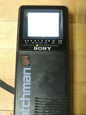 Vintage Sony Watchman 1985 Works