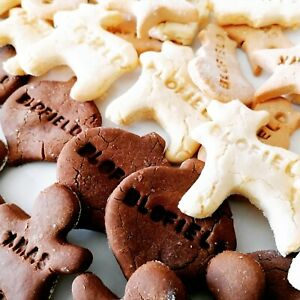 Gluten Free Dog Treats Biscuits Personalised handmade Christmas gift shapes