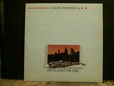 DAVID KNOPFLER  Lips Against The Steel  LP  Dire Straits solo    NEAR-MINT !