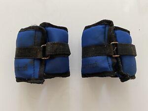 Ankle Weights Adjust Leg Wrist Strap Eurotrim Training Fitness Gym Straps 1-6KG