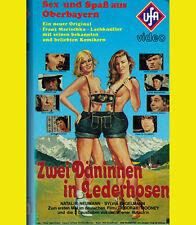 Peter Steiner ZWEI DÄNINEN IN LEDERHOSEN Herbert Fux SEX Bayern VHS Dindl