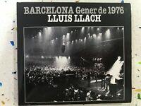 LLUIS LLACH CD BARCELONA GENER DE 1976 DESPLEGABLE DIGIBOOK
