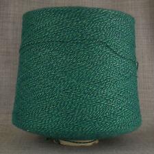 Verde Tweed Misto Lana Filato A 3 strati 1,200 G enorme CONO 24 Ball Macchina per Maglieria a Mano