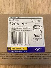 1 Pole 20 Amp Combination Arc Fault Square D Breaker 10 Kaic