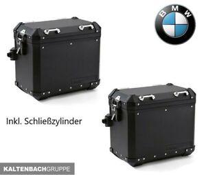 BMW Aluminium Variokoffer Satz inkl. codierbare Schlösser F850GS R1200GS R1250GS