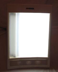 Sun Touch Plus Ionizer Model NV1100 Nature Bright  Therapy Light Sunshine
