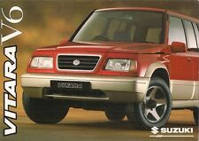 Suzuki Vitara V6 2.0 Estate 5-dr 1996-97 UK Market Sales Brochure
