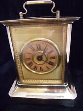 Antique Musical Alarm Carriage Clock. Wm Meyerink Germany 1910  (HB198)