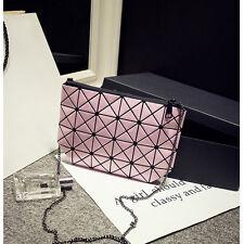 Fashion Geometric Sequins Diamond Lattice Small Women Messenger Clutch Bag Purse