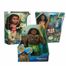 Movie Princess Moana Singing Maui Action Figures Doll Kids Figurines Toy