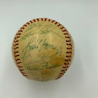 Rare 1977 Toronto Blue Jays Inaugural Season Team Signed Baseball