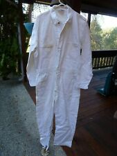 VTG Workwear Coveralls Overalls Jumpsuit Big Bear White 46 Tall