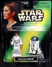 Retro Star Wars Princesa Leia Colección Leia (Carrie Fisher 1997 y R2-D2)