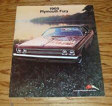 Original 1969 Plymouth Fury Sales Brochure 69 VIP Sport Wagon