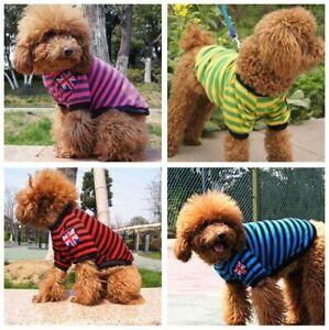 Small Medium Dog Clothes Pet Puppy Costume Dog Cat Apparel Vest Colors XS-XL