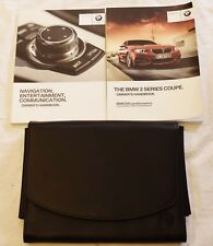 Genuine BMW serie 2 Coupe F22 Manual Navi Audio Owners Manual 2014-2017 Pack
