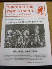 Nov-1991 Fanzine: Liverpool - Through The Wind & Rain, Issue No.10 [October/Nove