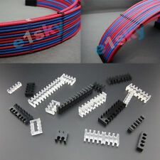 10Pcs PC ATX Cable Comb / Dresser Set for 3.0mm Cables PSU PCIe Computer Wire