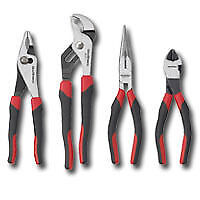 AIRCRAFT TOOLS NEW GEARWRENCH 4PC PLIER SET CUTTERS/ SWAN NECK / LONG UK SELLER