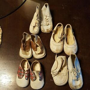 Vtg baby shoes