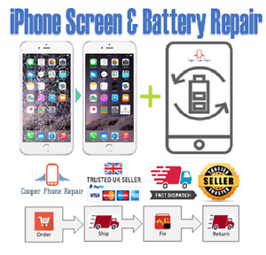 iPhone 7 Full Screen and Battery Replacement Service - Same Day Repair