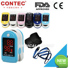 CE&FDA Pulsómetros Oximetro Saturometro,Pulse Oximeter,Blood Oxygen,SPO2 CMS50DL