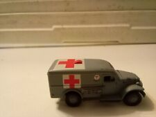 2000 Johnny Lightning Pearl Harbor Ambulance Real Riders Tires .