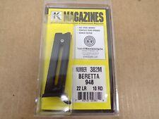 BERETTA – 948, .22 LR, 10 RD MAGAZINE by Triple K #382M