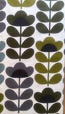 ~ 19cm x 50cm L Orla Kiely Sweet Pea in Sea Blue Lightweight Cotton Fabric New