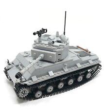 Custom Made WWII M4A3E8 Sherman Tank for Minifigure US army m4 moc