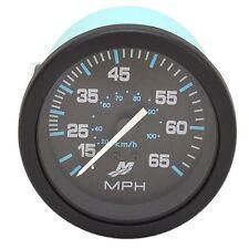 Mercury Boat Speedometer Gauge 895285A03   Princecraft Black / Blue