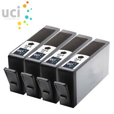 4 Black Ink Cartridges For HP 364XL Photosmart 5510 5515 5520 6510 C6380 non-oem