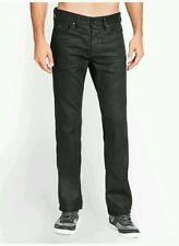 NWT Guess desmond Relaxed Straight Jeans in Black Solar Wash, size 29... men