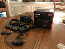 Sony ILCE-6500 a6500 4K Mirrorless Camera Body Black