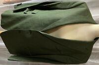 TAILORED Maßgeschneidertes Herren Sakko 52 Grün Meliert - gefüttert TOP STYLE