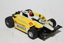 Tyco Slot Car, Renault Yellow and Black F-1 Race Car