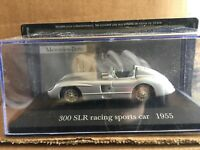 """DIE CAST  """" 300 SLR RACING SPORT CAR 1955 """" MERCEDES COLLECTION SCALA 1/43"""