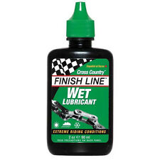New Finish Line Cross Country Wet Lube Lubricant Bike Bicycle Oil Tube Type 60ml