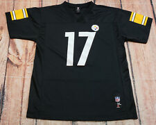 NFL Team Apparel Steelers Jersey #17 Wallace Boys Size XL 18-20